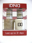 DND *Duo Gel* (Gel & Matching Polish) Glitter Set 467 - Legendary Diamond by DND Gel