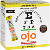 Ojo Eye Care Crystals - Citrus Lutein Burst - 30 Packets