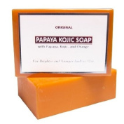 Original Papaya Kojic Whitening Bar 120g for All Skin Types
