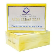 Authentic Relumins Medicated Professional Acne Clear Soap with Calamansi & Salicylic Acid Clarify & Reduce Pores and Acne Breakouts