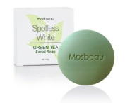 Authentic Mosbeau Spotless Green Tea Facial Soap Reduces Pores and Solves Skin Problems Like Blemishes, Pimples, Allergy, Dry Skin and Dead Skin Cells. Perfect for Problematic Skin.