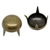 Souarts Bronze Copper Colour Round Spike Rivet Studs Spots Pack of 300pcs