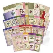 Hunkydory Garden Flowers of Britain Luxury Card Kit GFOB101