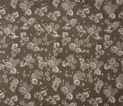 Indian Decorative Floral Print Fabric Sewing Cotton Craft Material By The Yard