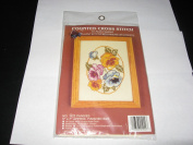 Pansies Counted Cross Stitch