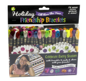 Iris Holiday Friendship Bracelet Thread Party Pack Kit-