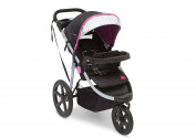 J is for Jeep Brand J is for Jeep Brand Adventure All-Terrain Jogging Stroller, Berry Tracks