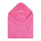 My Blankee Organic Newborn Towel, Fuschia