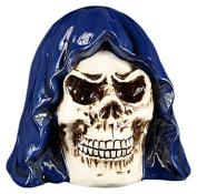 PTC Ceramic Grim Reaper Skull Savings Piggy/Coin/Money Bank, 17cm H