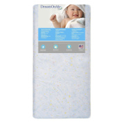 Dream On Me Crib and Toddler 180 Coil Mattress, Star Bright
