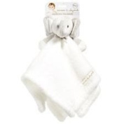 Blankets and Beyond White Elephant Baby Security Blanket Plush