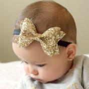 Ascentan(TM)Fashion Korean Baby Headbands Newborn Baby Girls Satin Ribbon Flower Headbands Infant Baby Headband children Accessories