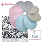 Softest Washable Nursing Pads - Stops leaking & Reusable for breastfeeding women