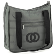 Cosy Coop Quilted Nappy Bag, Colour Pewter