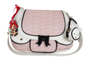 Betsey Johnson Cargo Messenger Nappy Bag