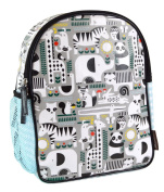 Petit Collage Toddler Backpack, Animals