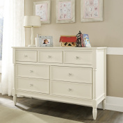Monbebe Corrine 7 Drawer Dresser - French