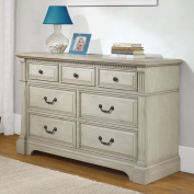 Monbebe Everett 7 Drawer Dresser - Antique