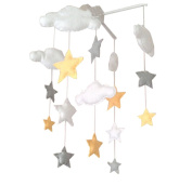DIY Nursery-Mobiles For Crib Decorations, Colourful Baby Cot Mobiles
