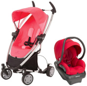 Quinny Zapp Xtra Mico AP Travel System, Pink Precious - Red Rumour