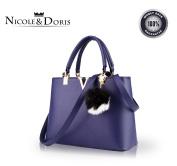 Nicole & Doris 2016 spring new trend minimalist fashion handbag for women casual shoulder cross-body bag