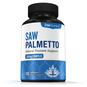 Premium Saw Palmetto Capsules For Prostate Health - Berry Powder Complex To Reduce Frequent Urination - Natural DHT Blocker To Fight Hair Loss - 500mg Natural Supplement