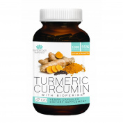 Organic Turmeric Curcumin Capsules with Bioperine® and 95% Curcuminoids - Extra Strength - 900mg Organic Turmeric per Serving - 120 Vegan Capsules - Non-GMO, Made in the USA, Gluten Free