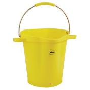 Vikan 56926 Pail, 18.9l PP/SS, Yellow