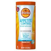 Metamucil Appetite Control Dietary Supplement, Sugar-Free Orange Zest, 36 Servings
