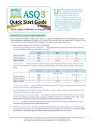 Asq-3 Quick Start Guide in French [FRE]