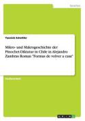 "Mikro- Und Makrogeschichte Der Pinochet-Diktatur in Chile in Alejandro Zambras Roman ""Formas de Volver a Casa"" [GER]"