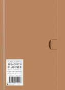 Natural standard plain & simple 18 month planner 2017