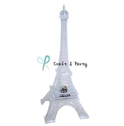 Craft and party 23cm Eiffel Tower With build in LED Light.