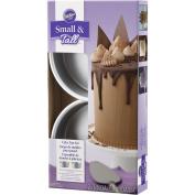 Wilton Industries 2105-5636 2 Piece Small & Tall Layered Cake Pan Set