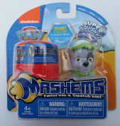 Paw Patrol Mashem SPARKY with Bonus Carry Case Nickelodeon Super Squishy
