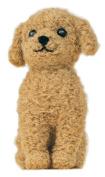 Hamanaka made of felt wool kit fluffy wool, felt dog Toy Poodle (apricot colour) H441-421 Designed by Susa SunaTomoko