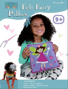Sew and Stuff Kit. Fairy Pillow Ideal Kids Craft Kit Includes all Supplies. Fun Activity. Ages 5-12. All Inclusive Arts and Crafts, Fairy Princess w/ Vibrant Colours Ideal Rainy Day Activity