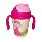 NOQ Child bamboo fibre straw drinking cup