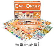 Cat-Opoly - Monopoly Themed Board Game, Property Trading Game NEW