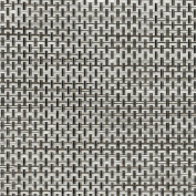 Chilewich Basketweave Table Runner 36cm x 180cm in Oyster