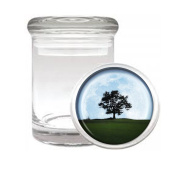 Full Moon Tree Dream Fantasy Medical Odourless Glass Jar
