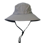 Sun Blocker Unisex Outdoor Safari Sun Hat Wide Brim Boonie Cap with Adjustable Drawstring for Camping Hiking Fishing Hunting Boating