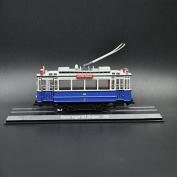 THE TOYS 1/87 TARM ATLAS BLAUWE WAGEN 465(beijnes)-1929 Static alloy resin the tram model