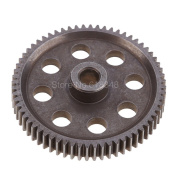 11184 Steel Spur Gear 64T Diff Differential Main RC Replacement Parts for Redcat HSP 1/10 Monster Truck