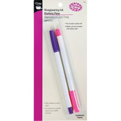 Dritz 711 Disappearing Ink Combo Pack-Pink & Purple 2/Pkg