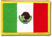 Mexico - Country Rectangular Patch