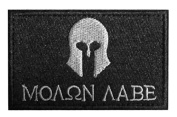 WZT Molon Labe-tactical Morale Patch hook and loop Morale