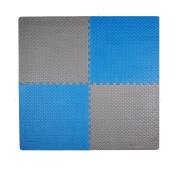 Tadpoles Leaf Pattern Playmat Set, Blue/Grey