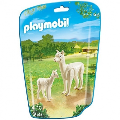 Playmobil - Zoo Theme - Alpaca with Baby