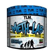 TLM Research Pre-workout- Meth LAB 410ml - Blue Raspberry